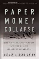 Paper Money Collapse book summary