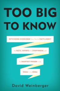 Too Big to Know book summary