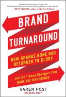 Brand Turnaround book summary