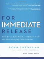 For Immediate Release book summary