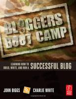 Bloggers Boot Camp book summary