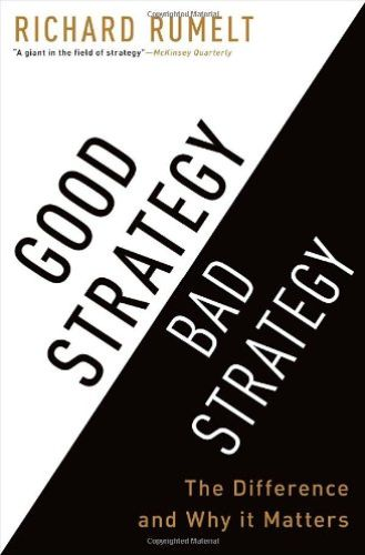 Image of: Good Strategy / Bad Strategy