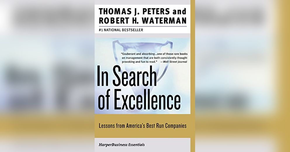 In search of excellence summary thomas j peters and robert h in search of excellence summary thomas j peters and robert h waterman publicscrutiny Choice Image