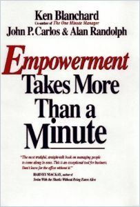 Empowerment Takes More than a Minute book summary