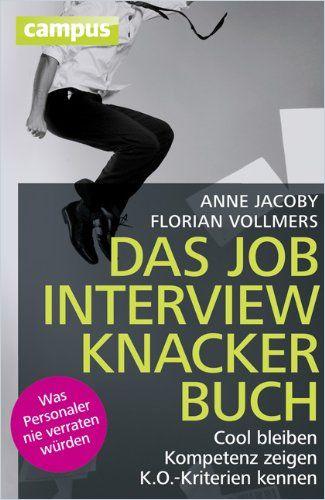 Image of: Das Jobinterviewknackerbuch