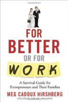 For Better or For Work book summary