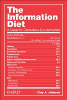 The Information Diet book summary
