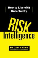 Risk Intelligence book summary