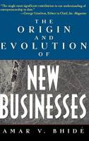 The Origin and Evolution of New Businesses book summary