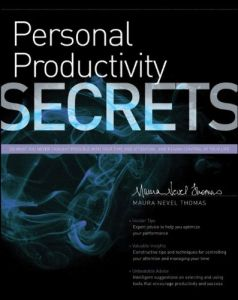 Personal Productivity Secrets book summary