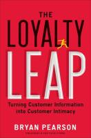The Loyalty Leap book summary