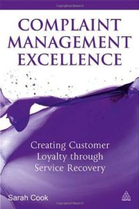 Complaint Management Excellence book summary
