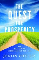 The Quest for Prosperity book summary