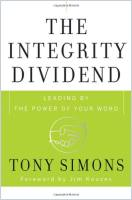 The Integrity Dividend book summary