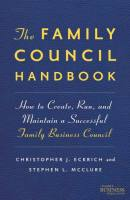 The Family Council Handbook book summary