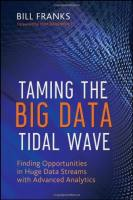 Taming the Big Data Tidal Wave book summary