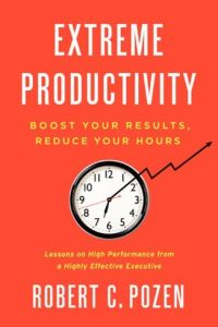 Extreme Productivity book summary