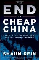 The End of Cheap China book summary