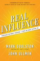 Real Influence book summary