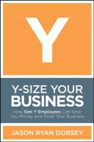 Y-Size Your Business book summary