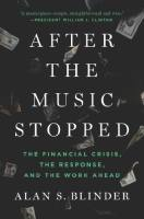 After the Music Stopped book summary