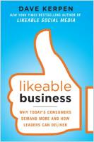Likeable Business book summary