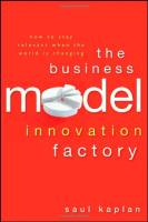The Business Model Innovation Factory book summary