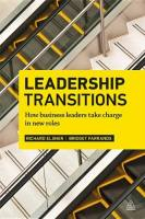Leadership Transitions book summary