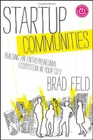 Startup Communities book summary