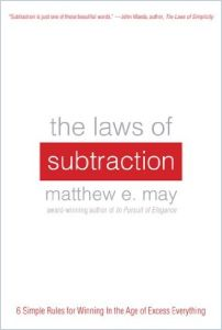 The Laws of Subtraction book summary