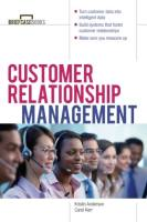 Customer Relationship Management book summary