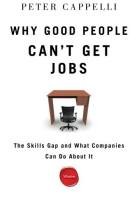 Why Good People Can't Get Jobs book summary