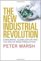 The New Industrial Revolution book summary