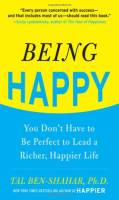 Being Happy book summary