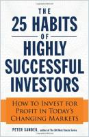 The 25 Habits of Highly Successful Investors book summary