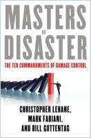 Masters of Disaster book summary