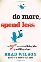 Do More, Spend Less book summary