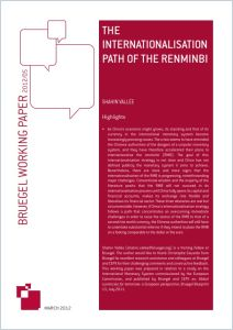 The Internationalisation Path of the Renminbi summary