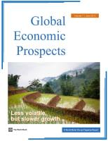 Global Economic Prospects (Vol. 7) summary