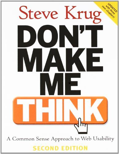 Image of: Don't Make Me Think