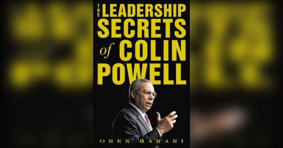 essays on colin powells leadership qualities Charismatic vs servant leadership the career of general colin powell is by any  were rated included leadership qualities,  powellscom reviews.