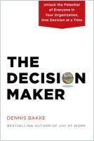 The Decision Maker book summary