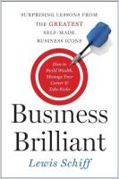 Business Brilliant book summary