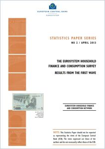 The Eurosystem Household Finance and Consumption Survey
