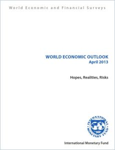 World Economic Outlook April 2013 summary