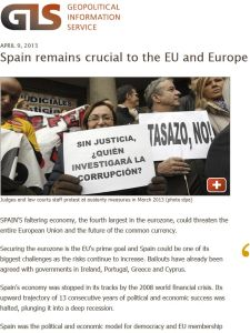 Spain Remains Crucial to the EU and Europe Despite Its Crisis summary