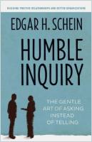 Humble Inquiry book summary
