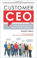 Customer CEO  book summary