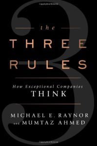 The Three Rules book summary