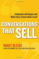 Conversations That Sell book summary